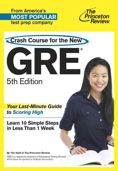 Crash Course for the Gre By Princeton Review (COR)